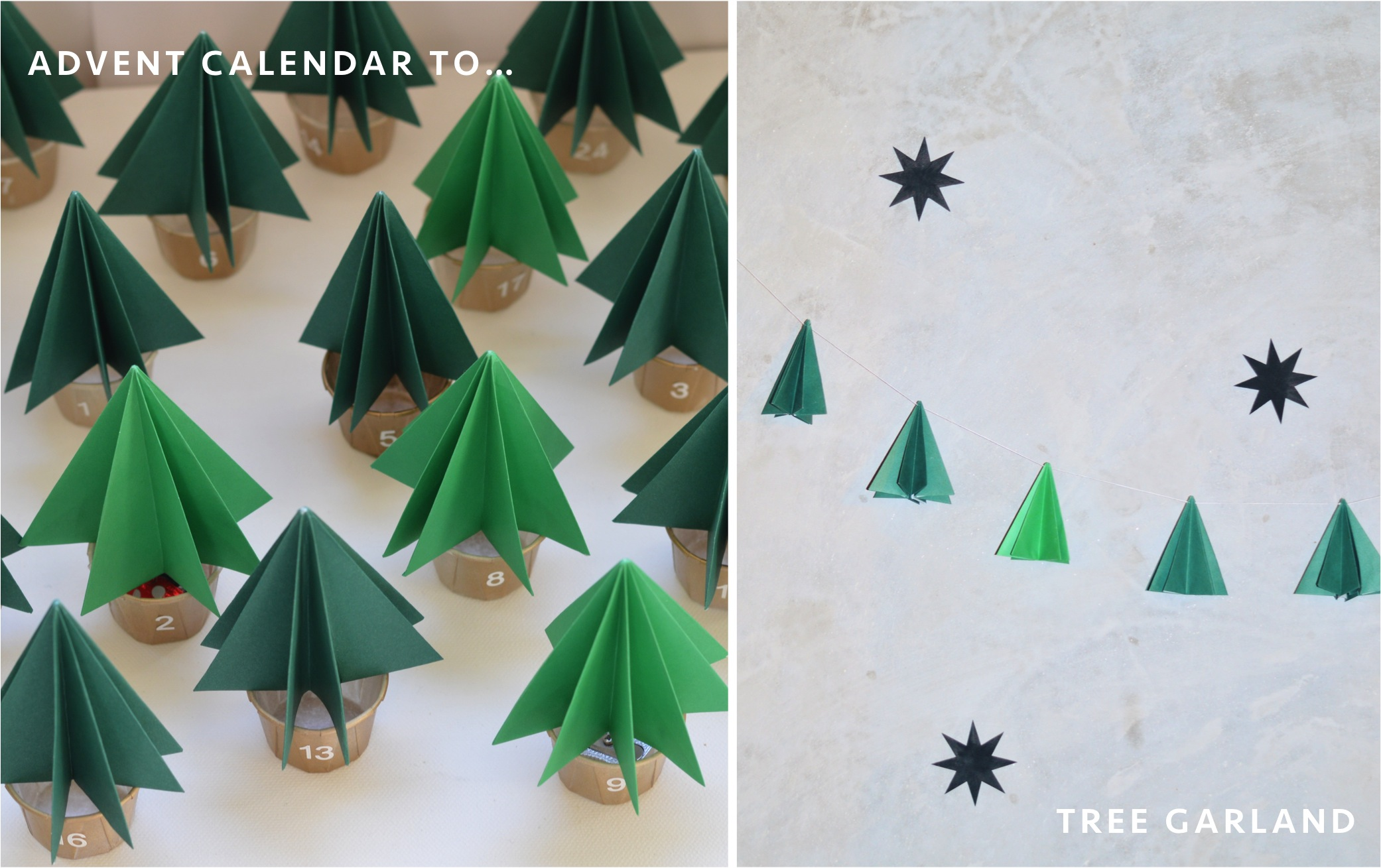 """DIY christmas tree decoration"""