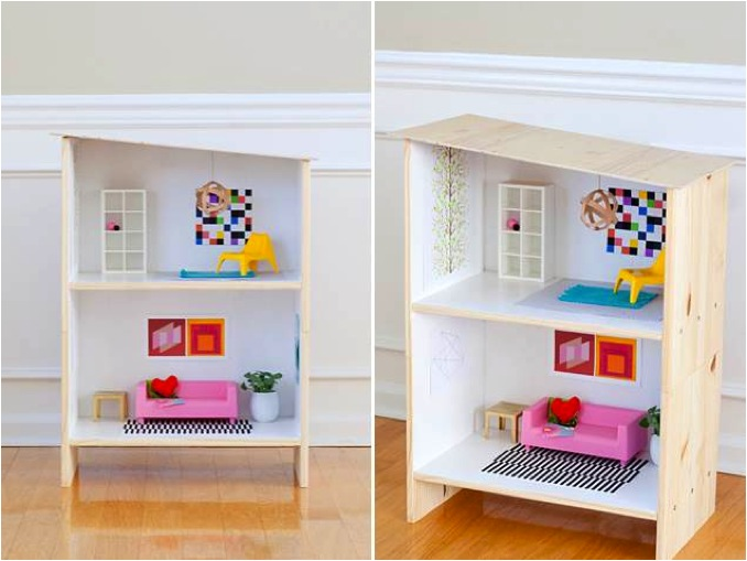 """Ikea hack DIY dollshouse"