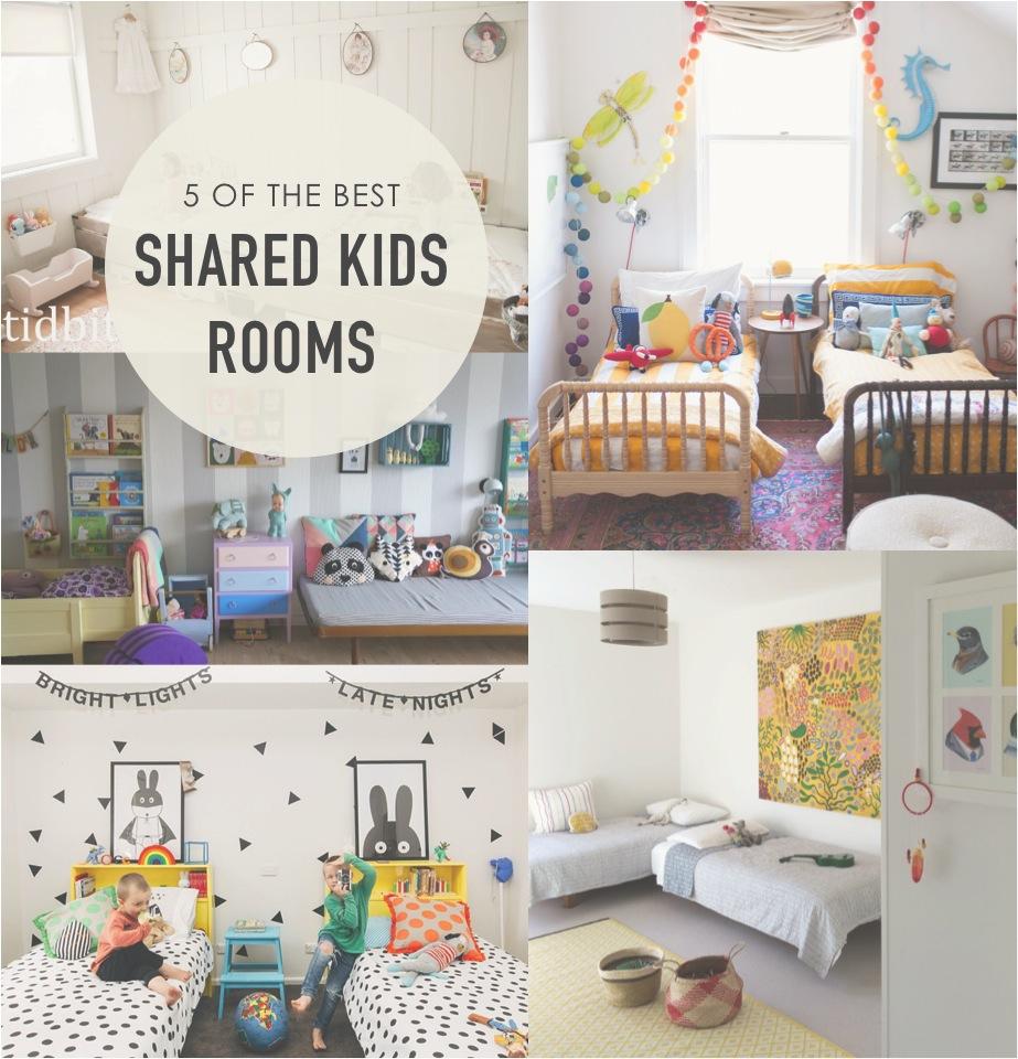 5 best shared kids rooms