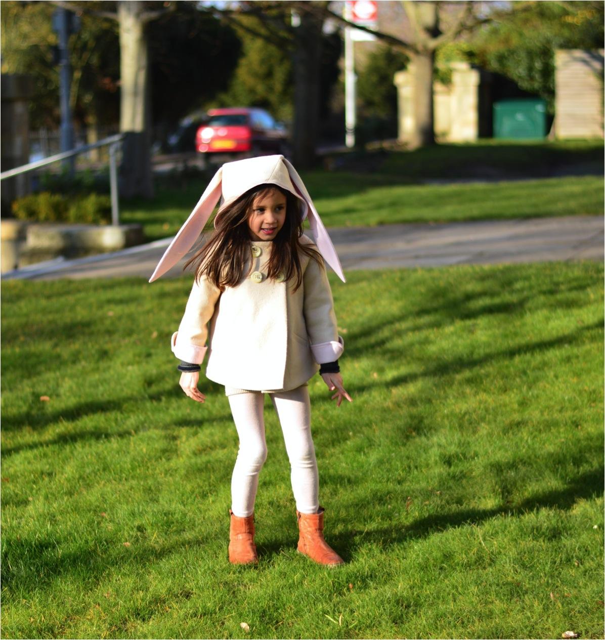 bunny kids winter coat - ebabee