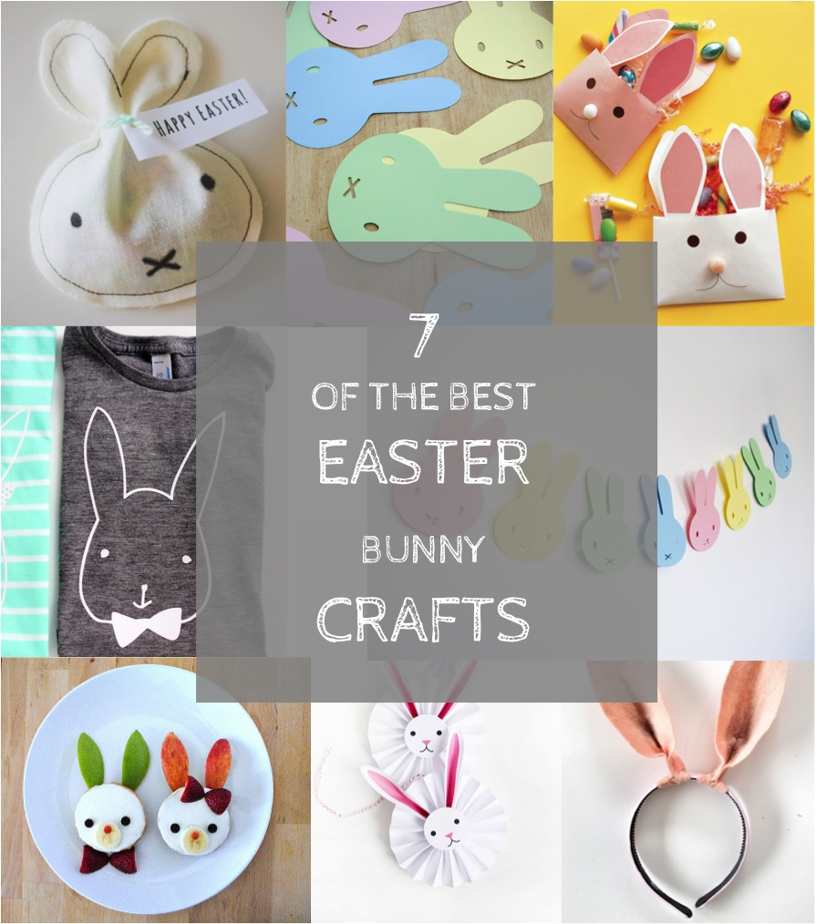 7 of the best easter bunny crafts