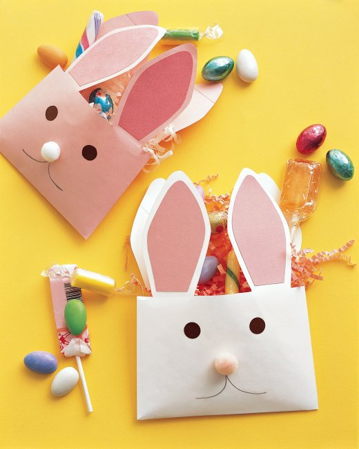 DIY Easter bunny envelopes