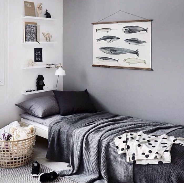 grey boys bedroom ideas