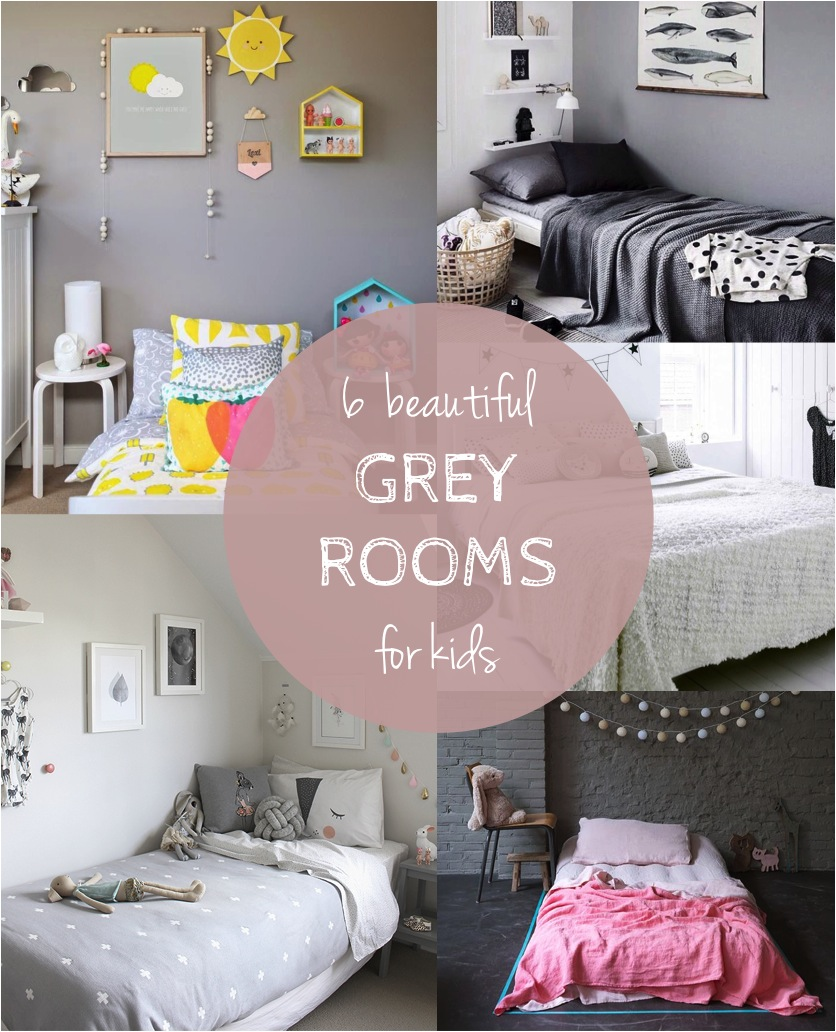 grey room decor ideas kids