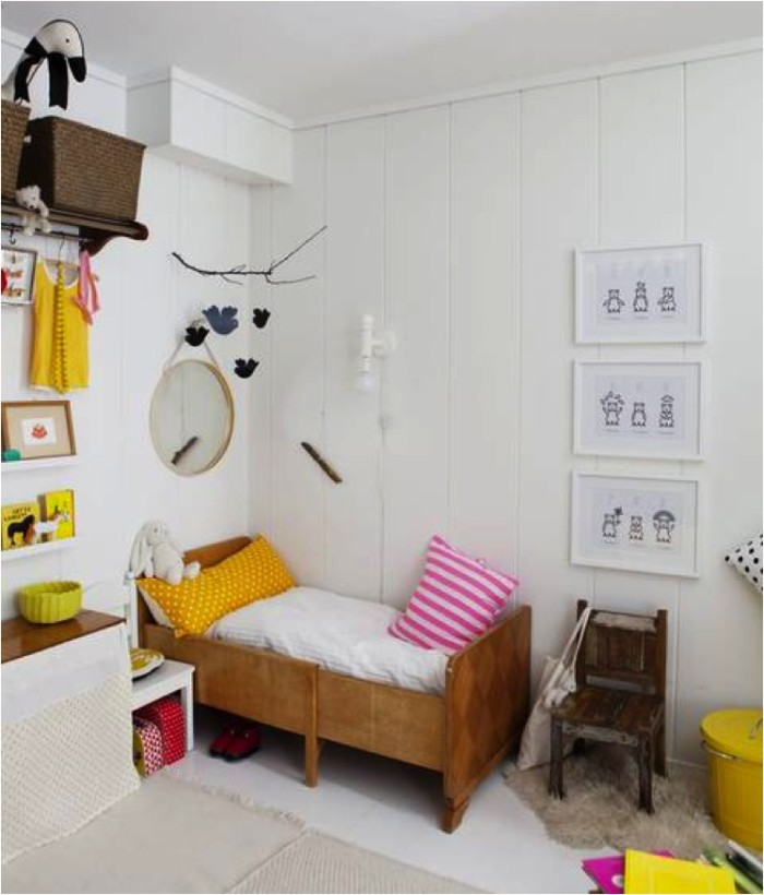 decorating with yellow kids room