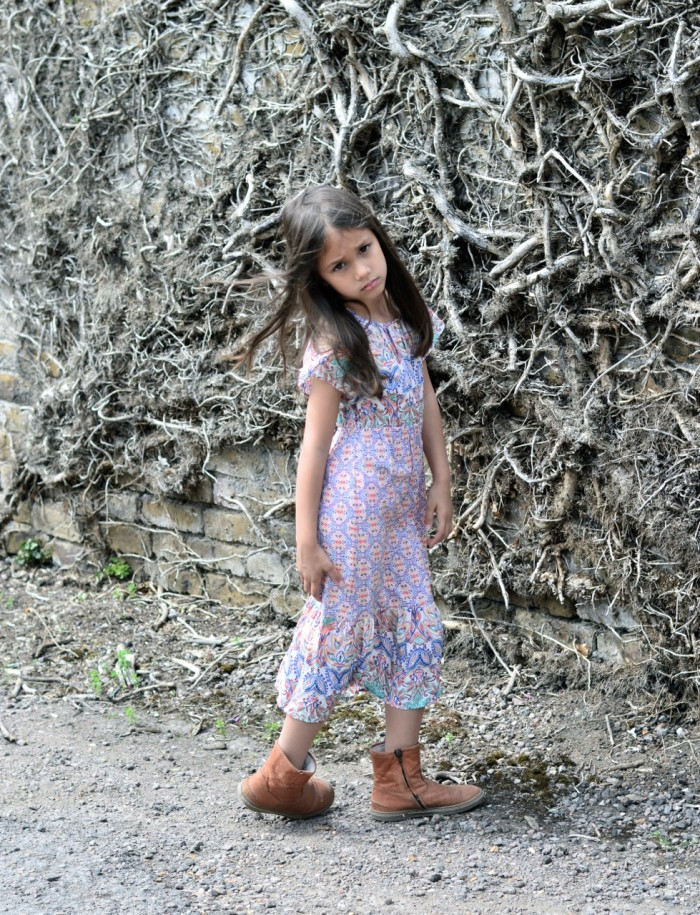 maxi dress for 6 year old girl