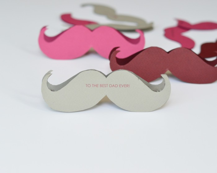 free printable mustache cards