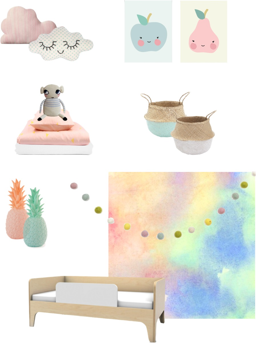 how to decorate with pastel colours