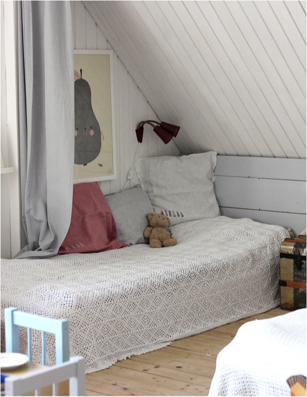 ideas to decorate an attic