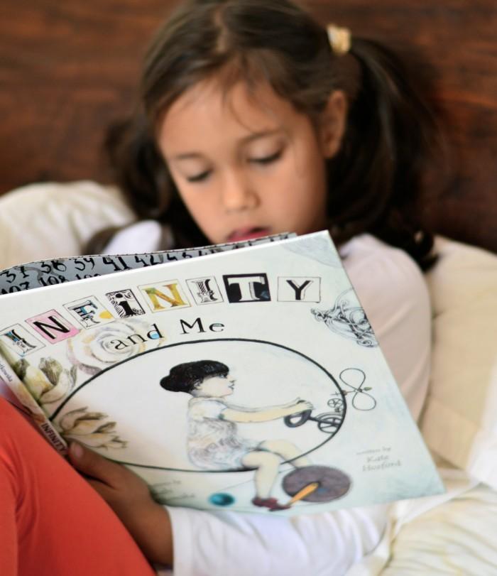 infinity and me kids book
