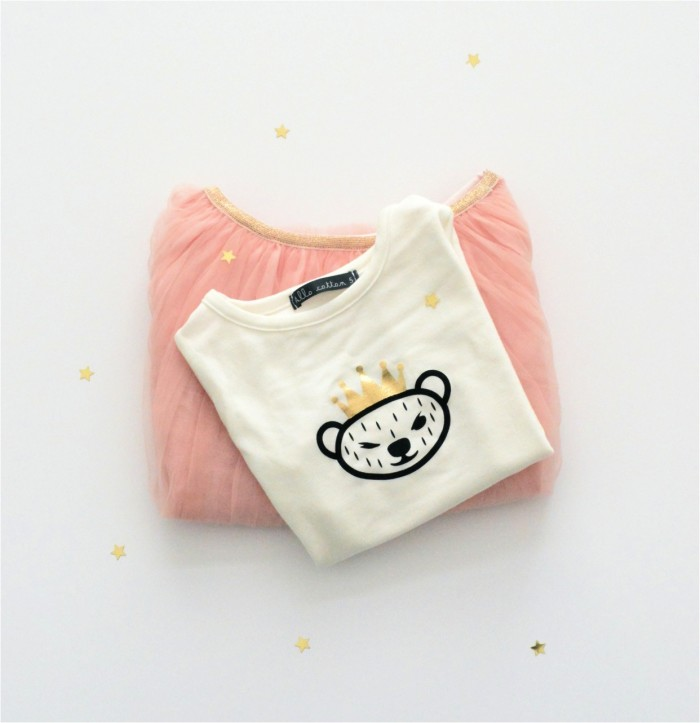 peach pink girls tutu skirt