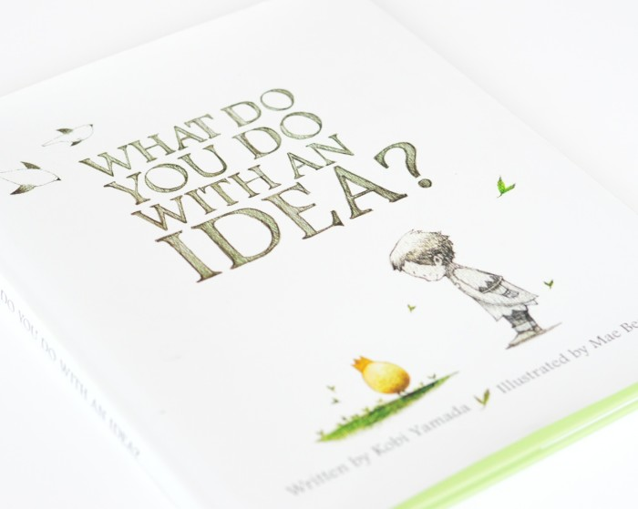 what do you do with an idea picturebook