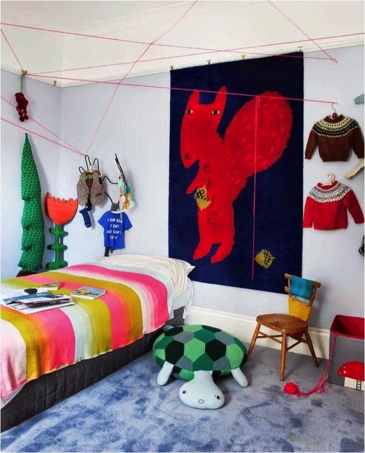 colourful room decor