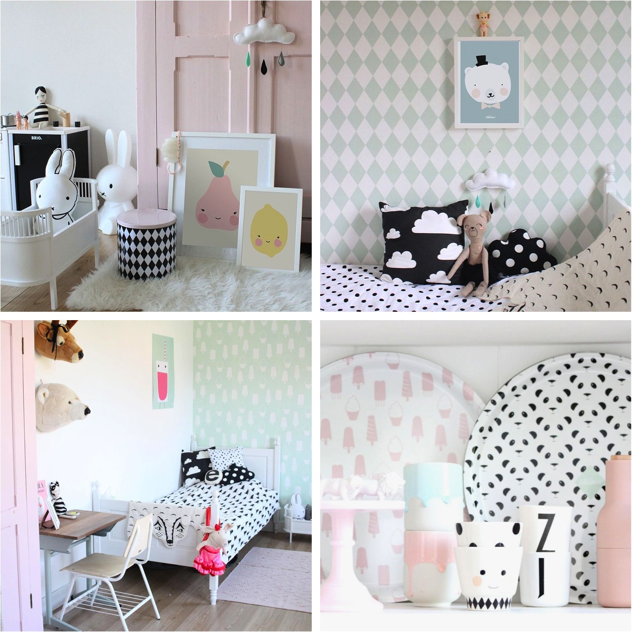 cute pastel decorations for the home