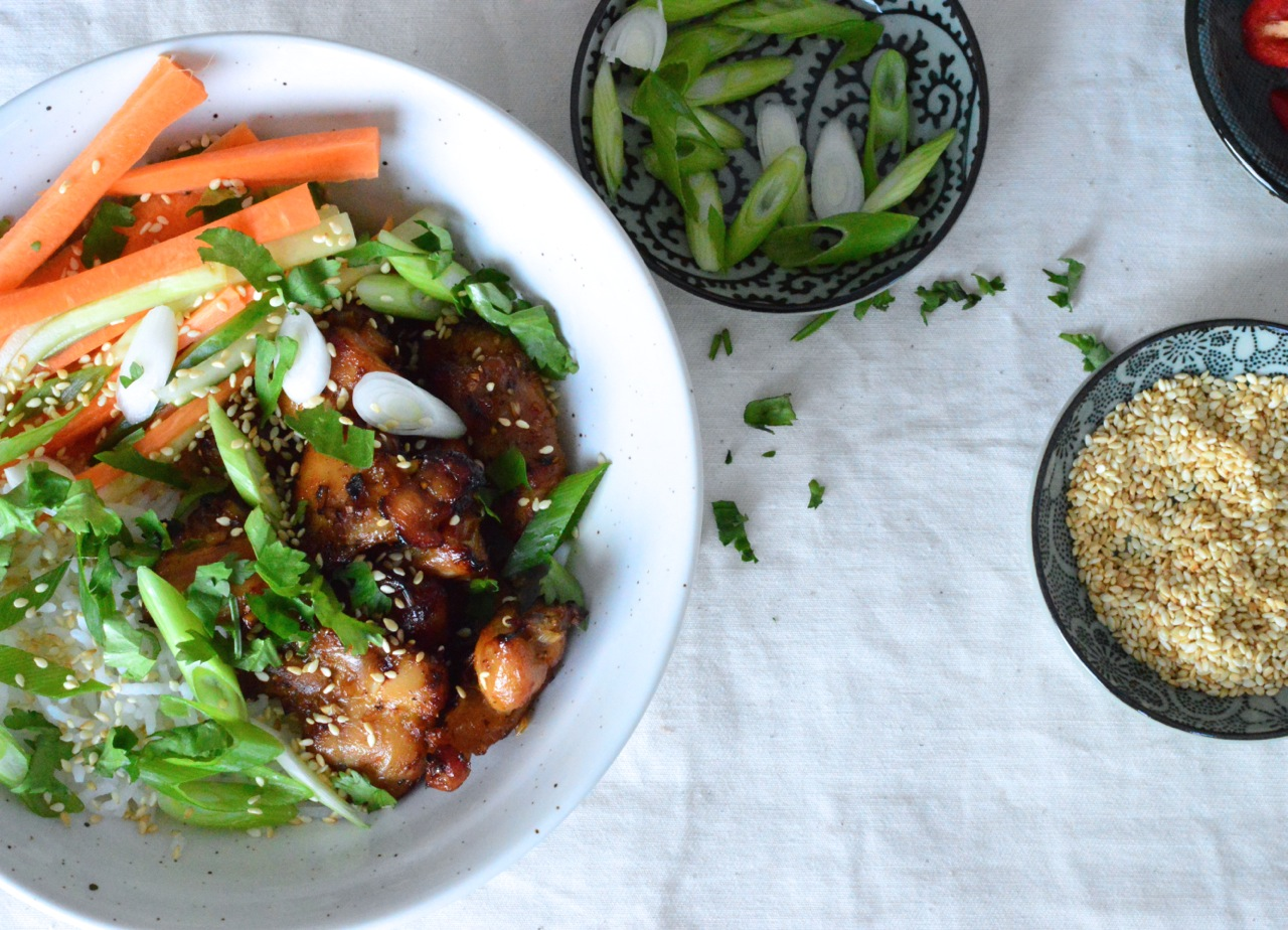 vietnamese grilled chicken and rice recipe