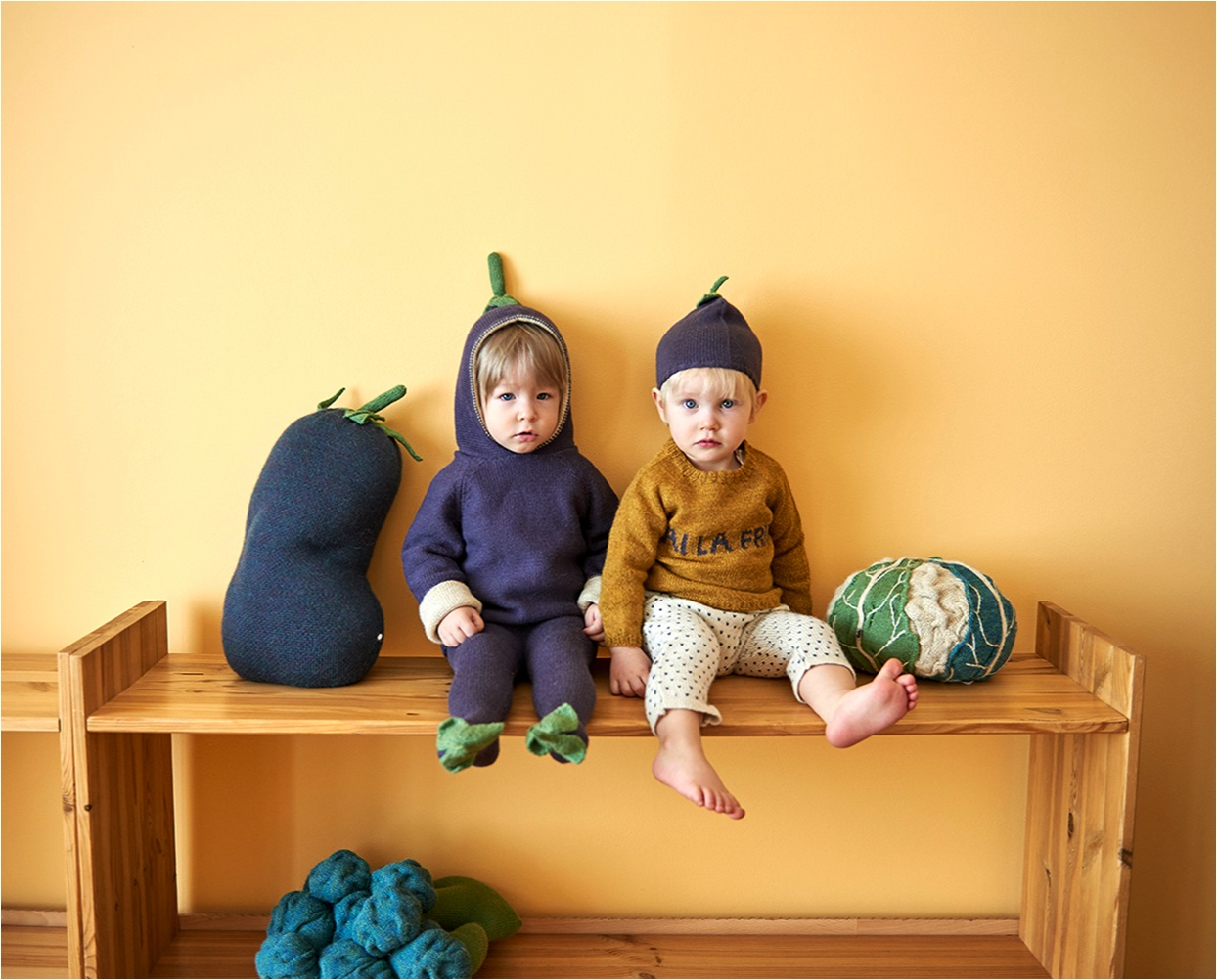cute knit baby hats