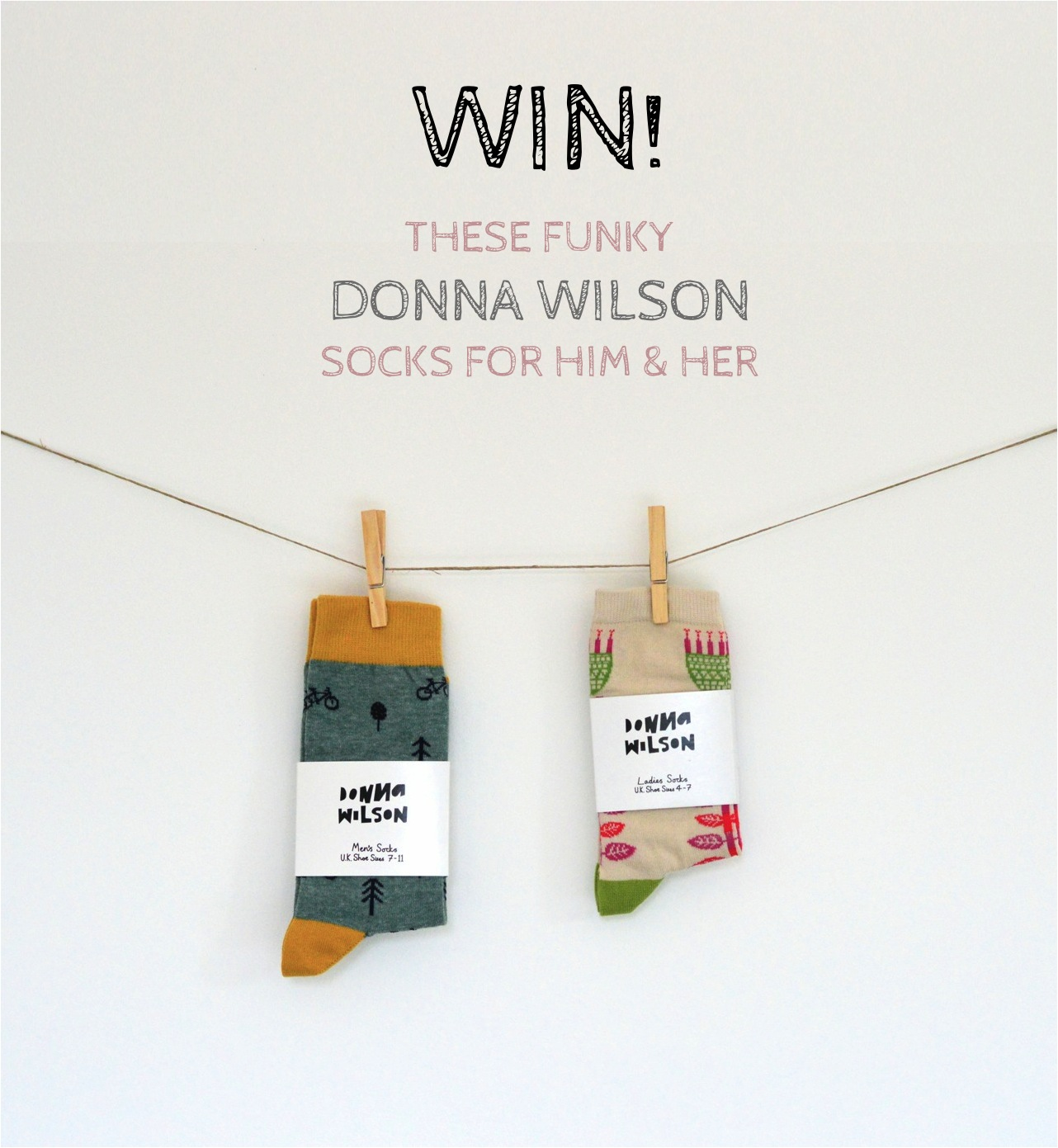 donna wilson socks giveaway