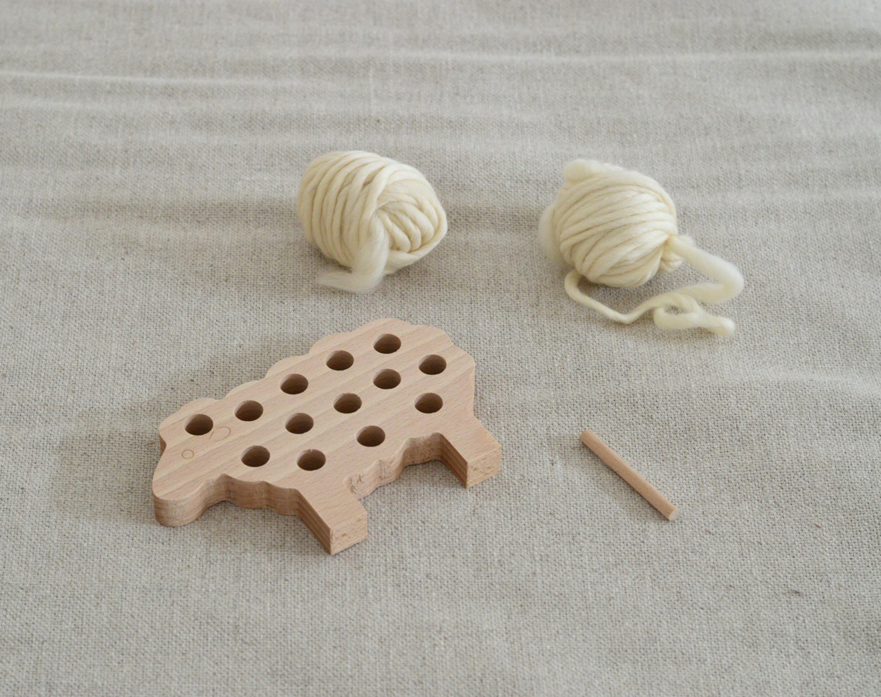 easy knitting toy