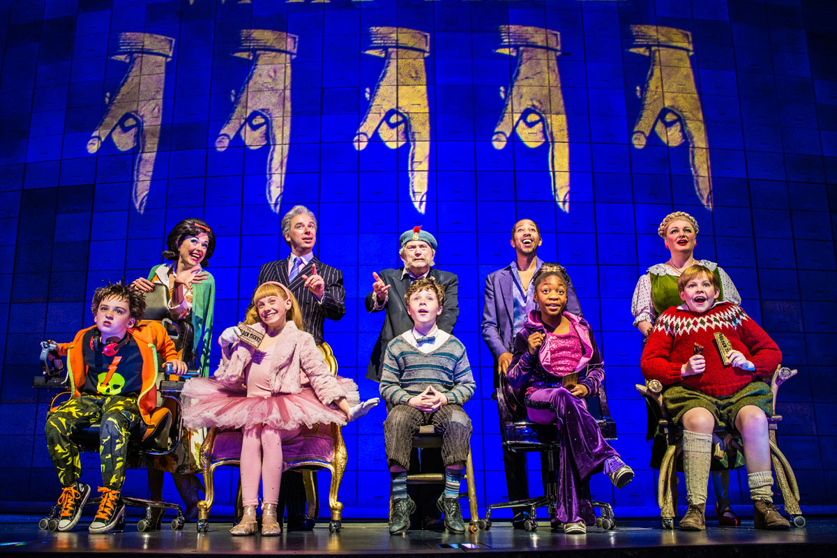 charlie and the chocolate factory the musical review