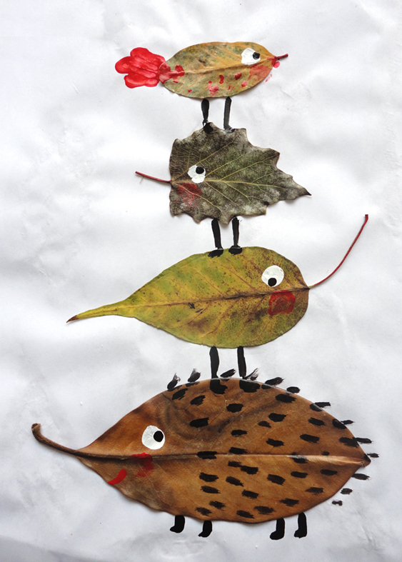 fall leaves craft ideas for kids