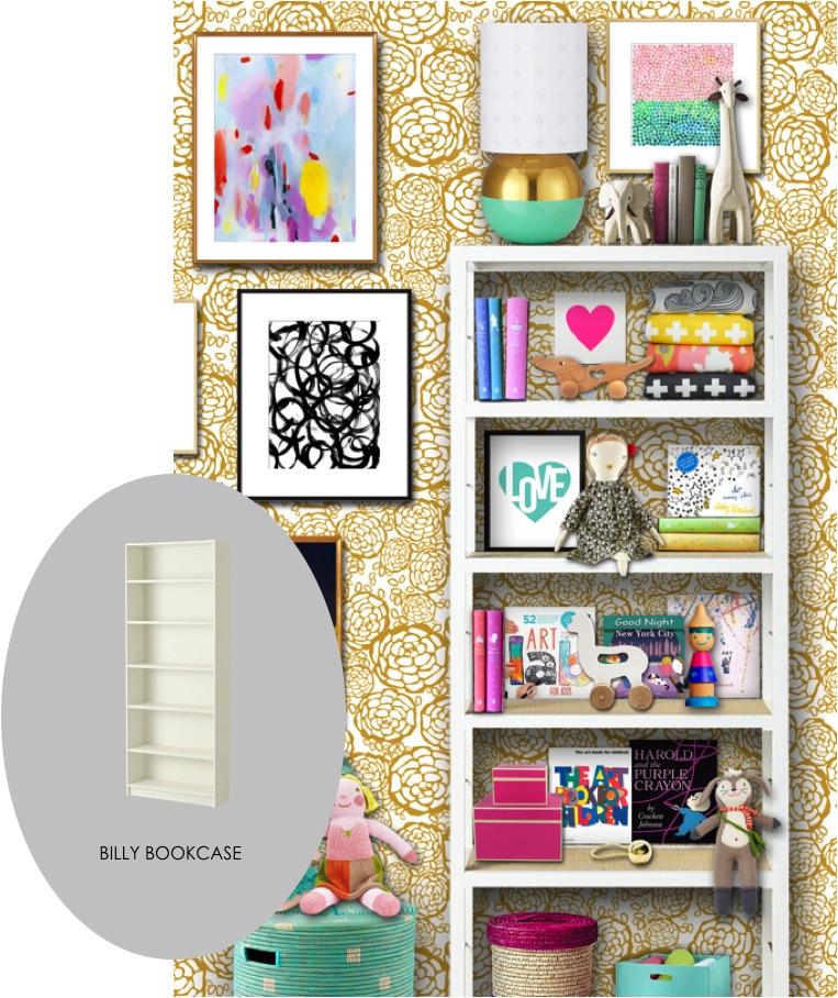 ikea hack bookcase