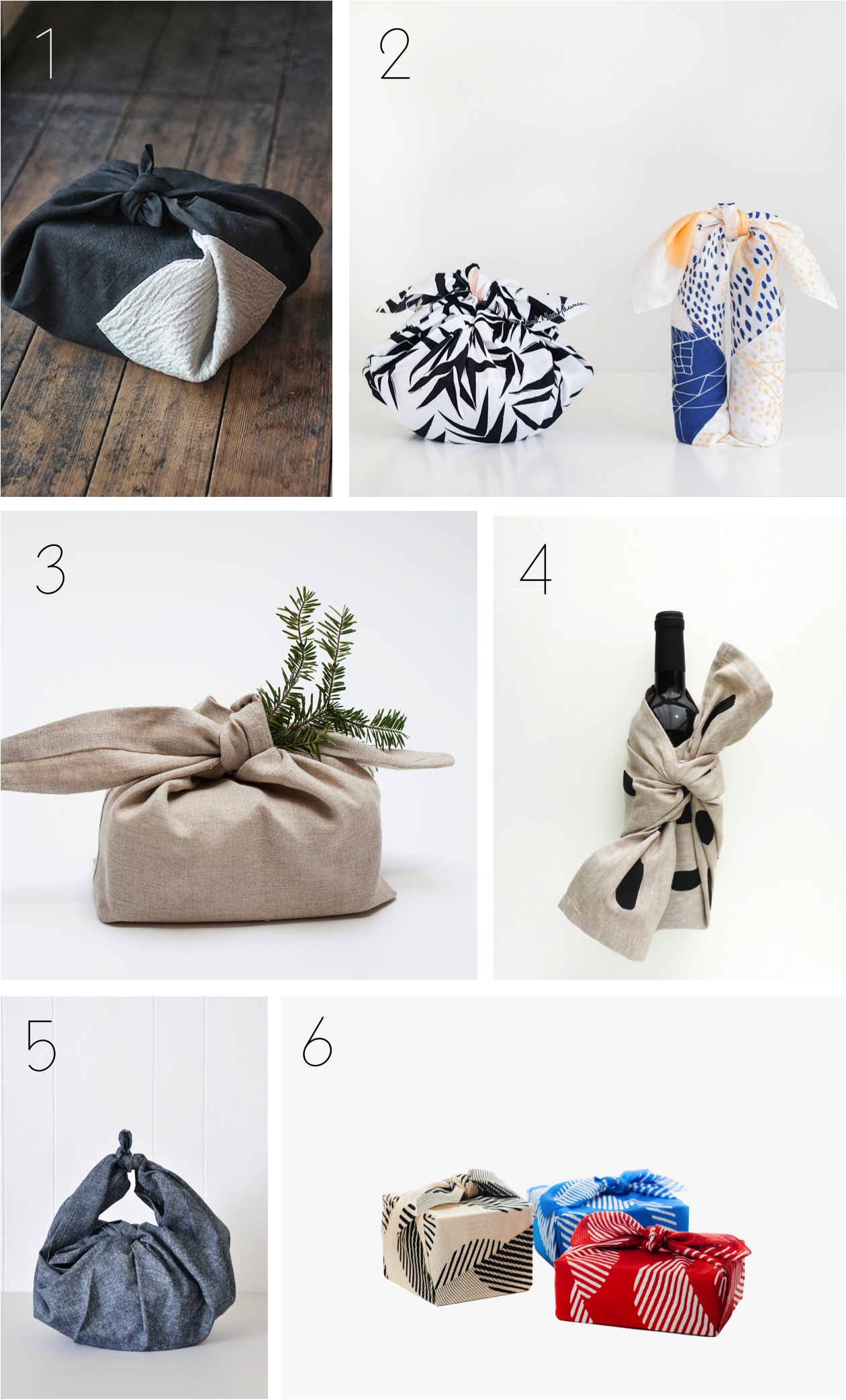 Japanese cloth gift wrapping