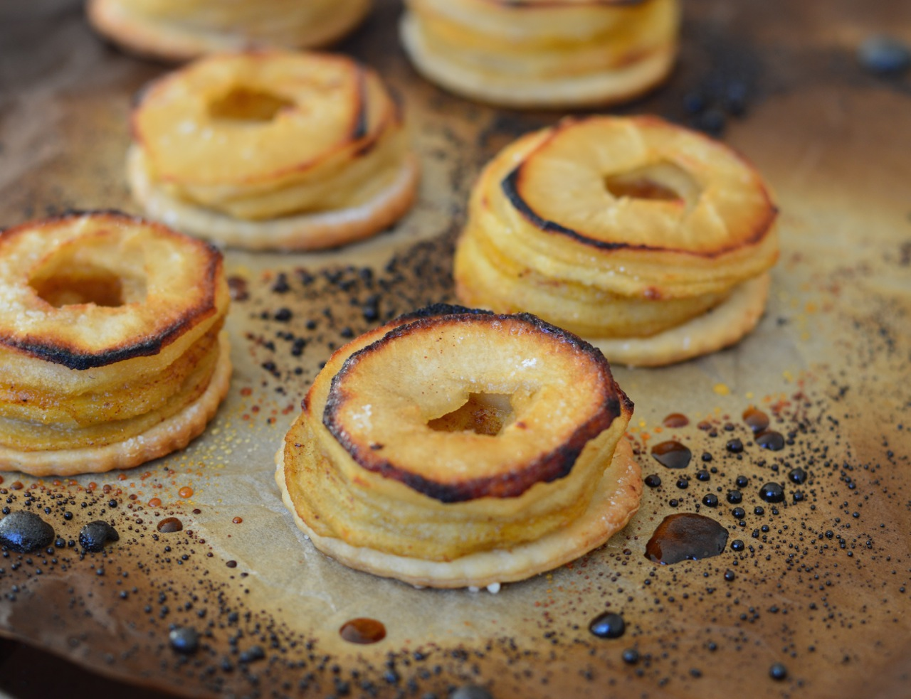 how to make mini apple pies