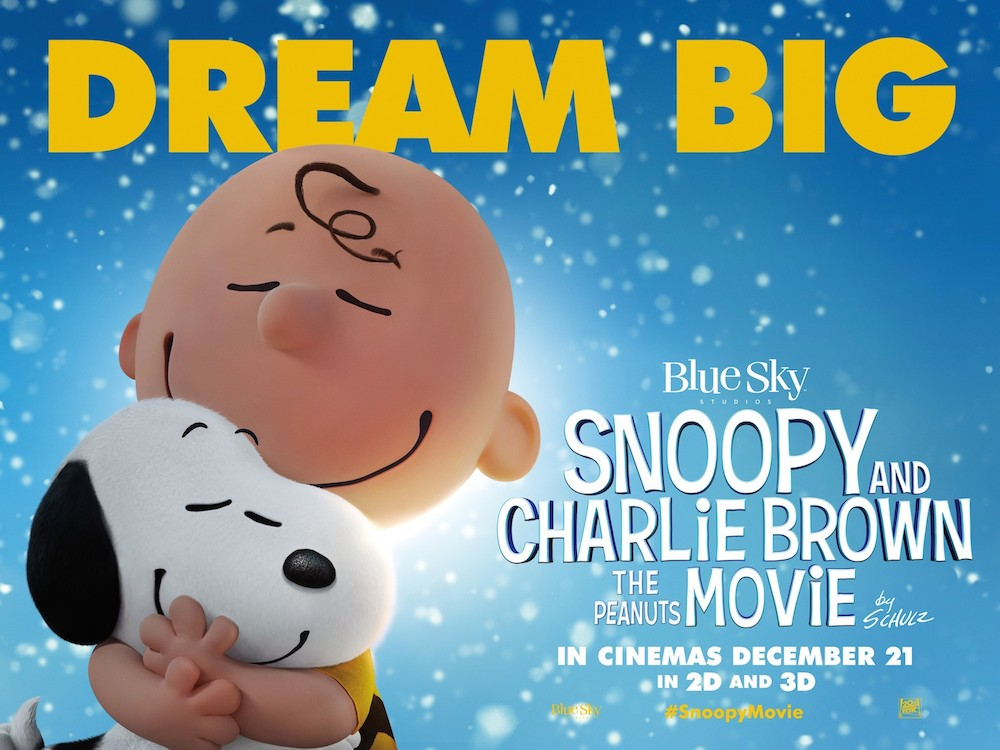 snoopy and charlie brown peanuts movie review