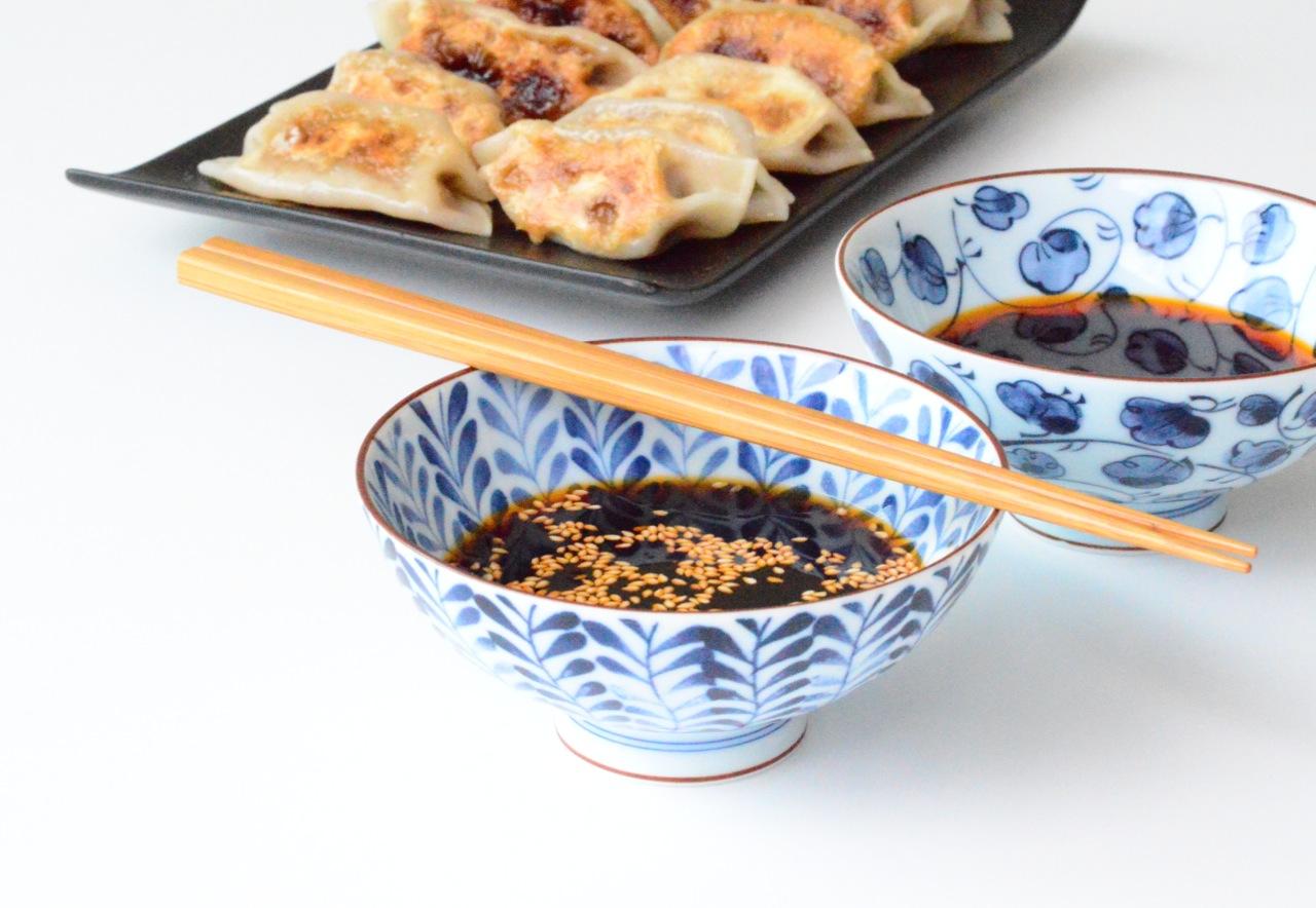 Chinese pork and shiitake mushrooms dumplings recipe