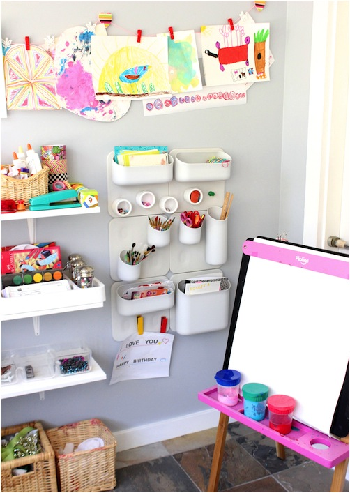 art room decorating ideas small space