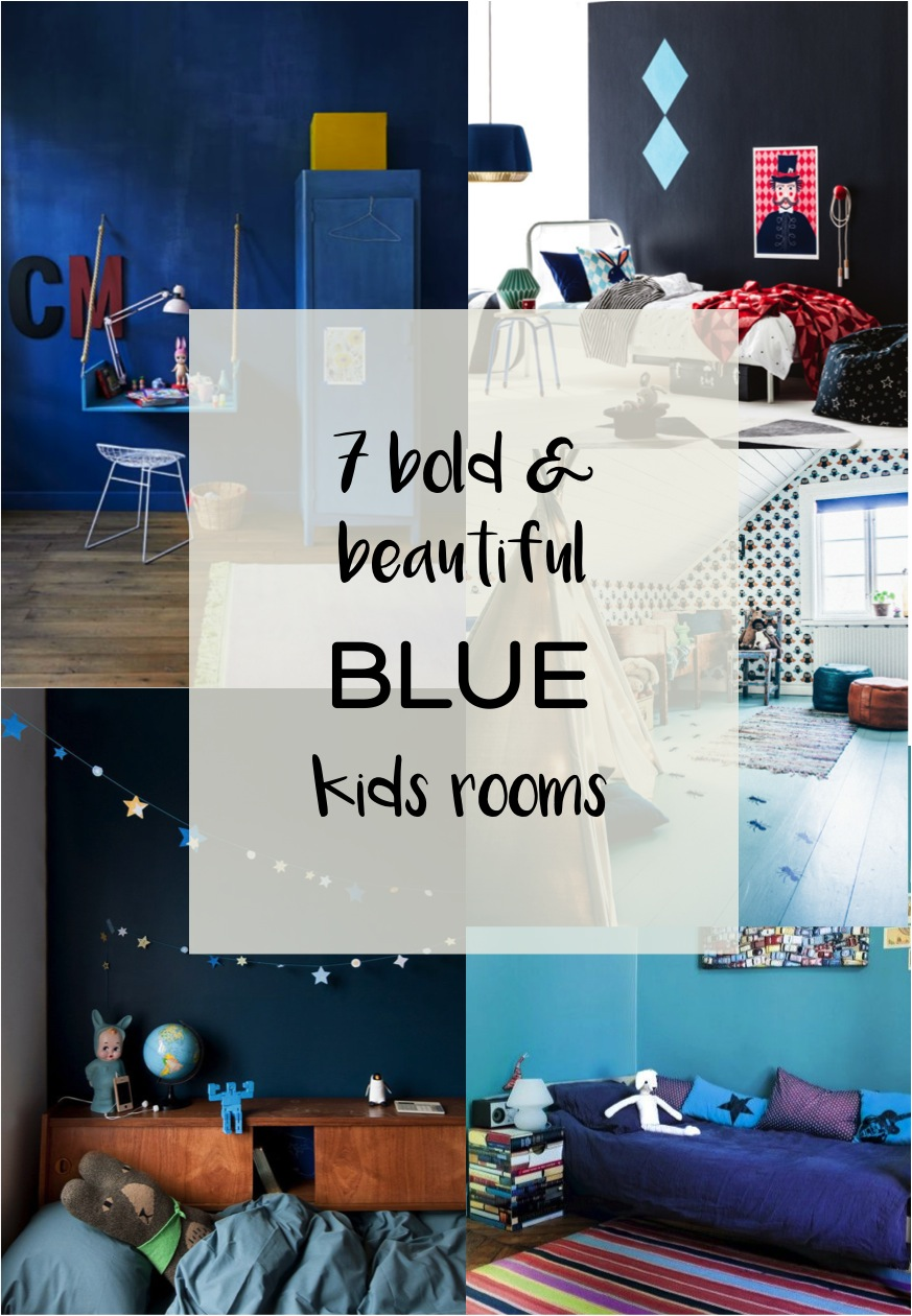 beautiful blue kids rooms
