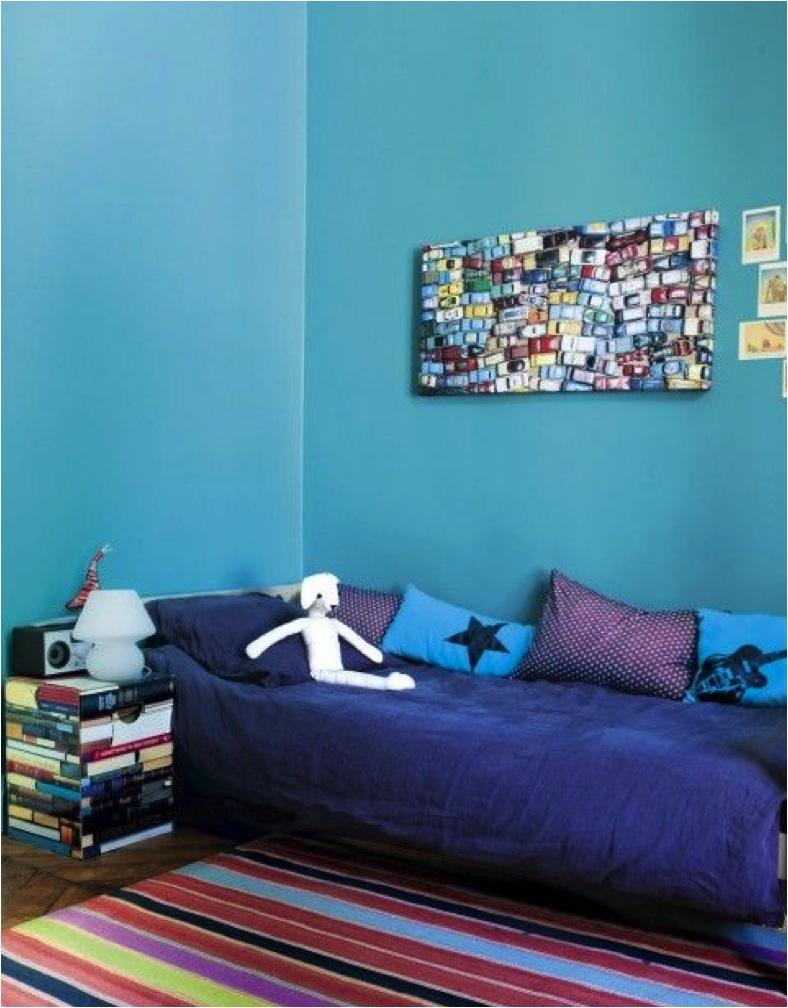 blue for kids room