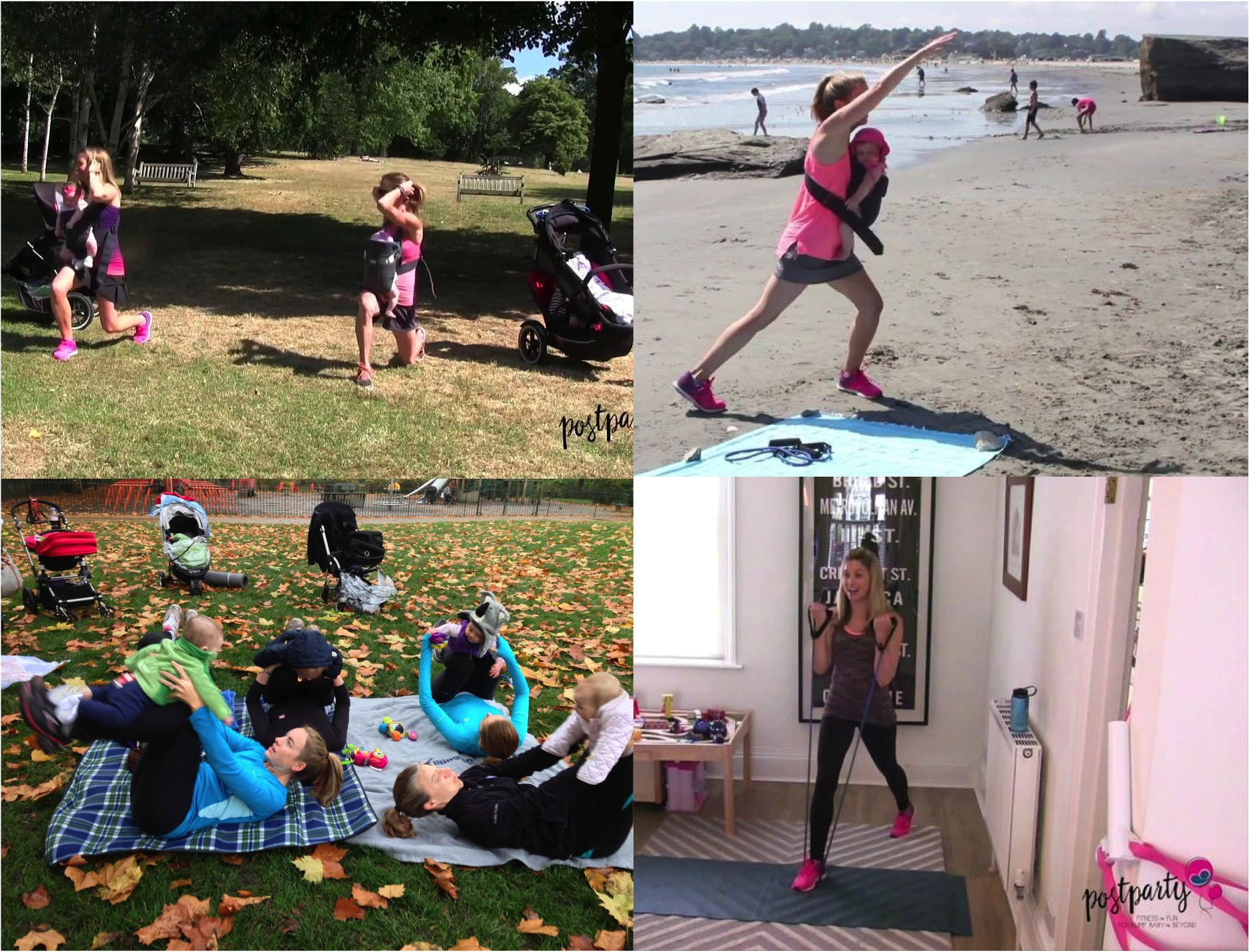 online fitness for mums