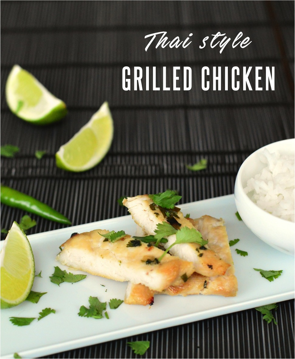 thai style grilled chicken