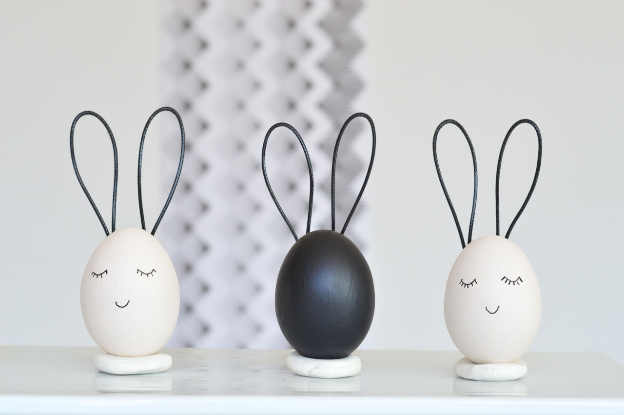 Easter egg bunny crafts
