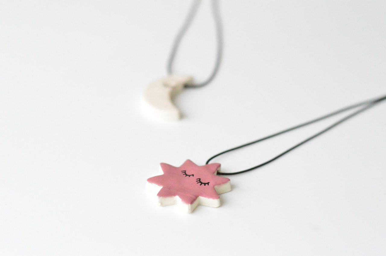 how to make clay pendants