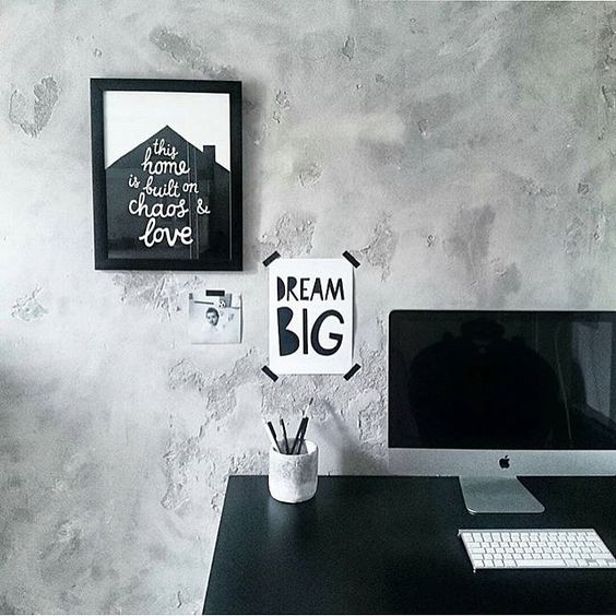black and white quote posters