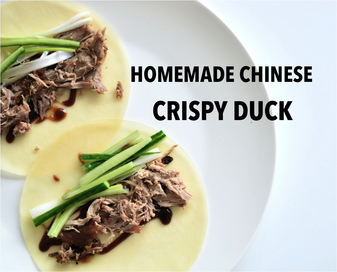 homemade Chinese crispy duck